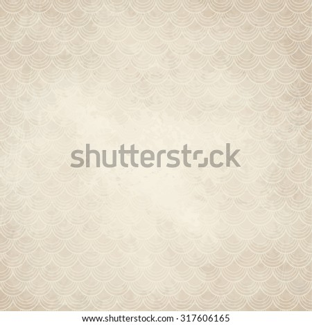 vector of old vintage paper background with - stock vector
