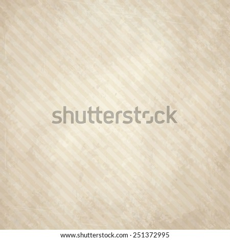 vector of old vintage paper background with lines - stock vector