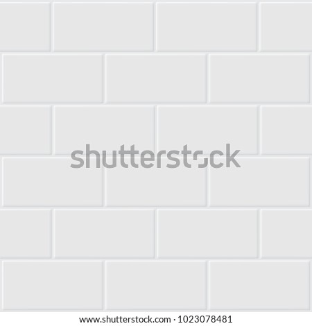 Vector of white tile for background.