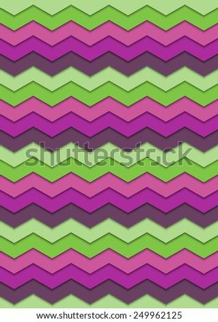 Vector of zigzag pattern. Vector eps10. - stock vector