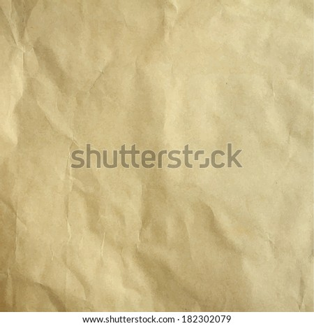 Vector old recycle paper background - stock vector