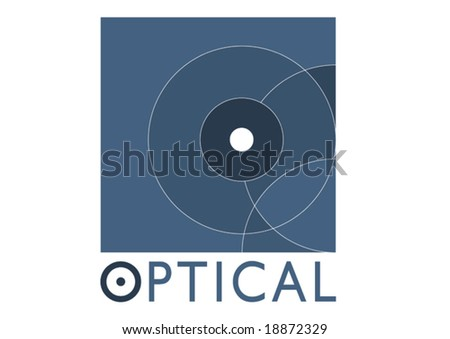 Vector Optician - stock vector