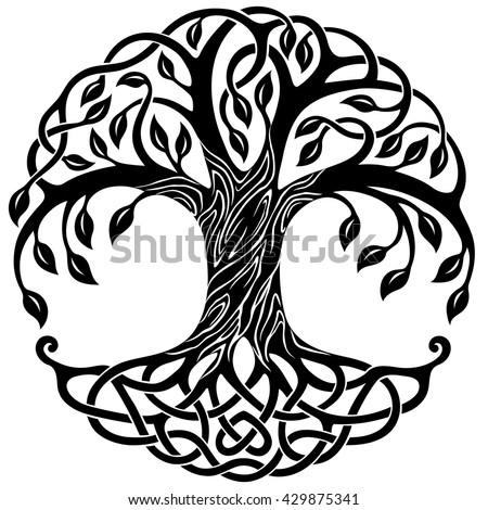 celtic tree of life stock images royalty free images vectors shutterstock. Black Bedroom Furniture Sets. Home Design Ideas