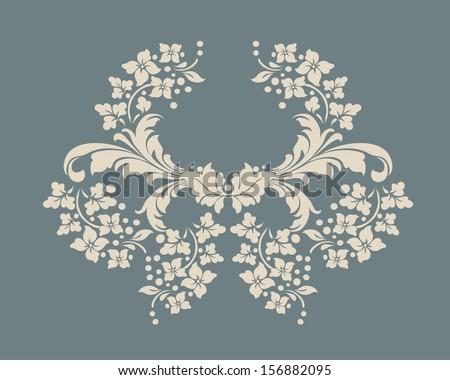 Vector ornamental Decorative elements design,vintage frame,luxury frame  - stock vector