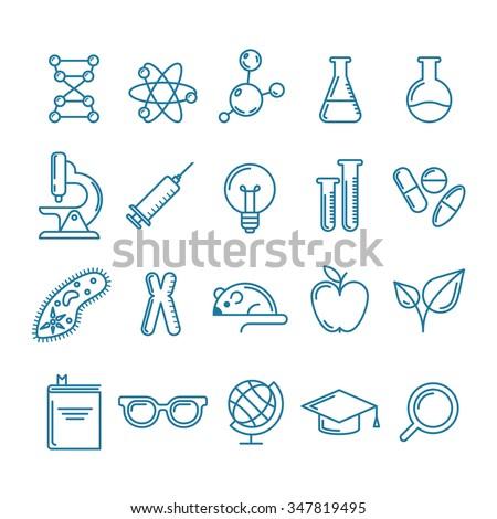 life science symbols gallery