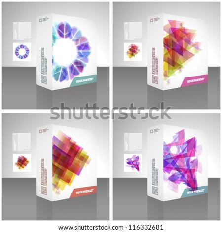 Vector packaging box. - stock vector