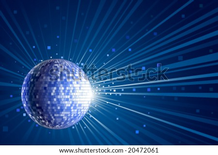 vector party background for design - stock vector