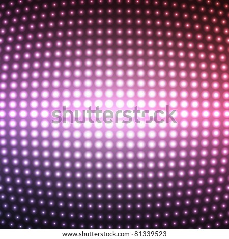Vector party lights, EPS10 illustration - stock vector