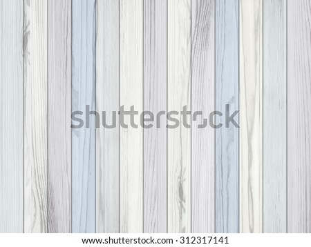 Vector pastel wood background. Wall texture - stock vector