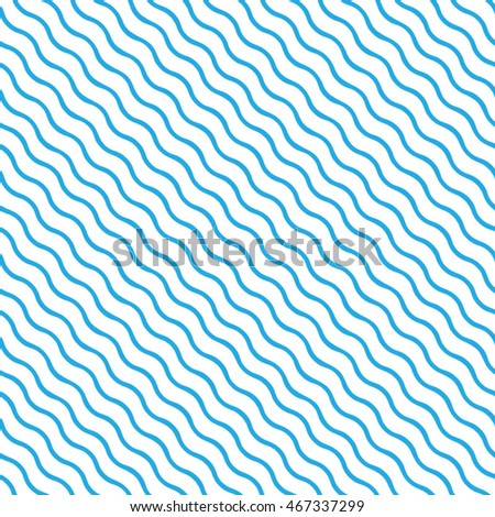 Vector pattern. Geometric blue background