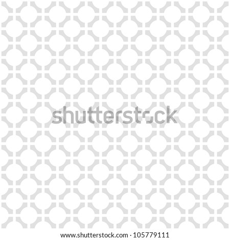 Vector pattern - geometric seamless simple black and white modern texture - stock vector