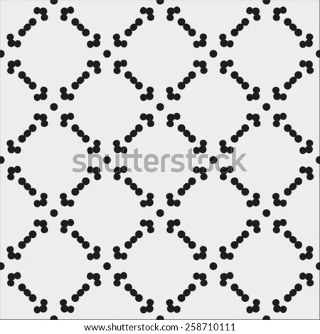 Vector pattern. Modern stylish texture. Repeating geometric tiles with smooth rhombuses  - stock vector
