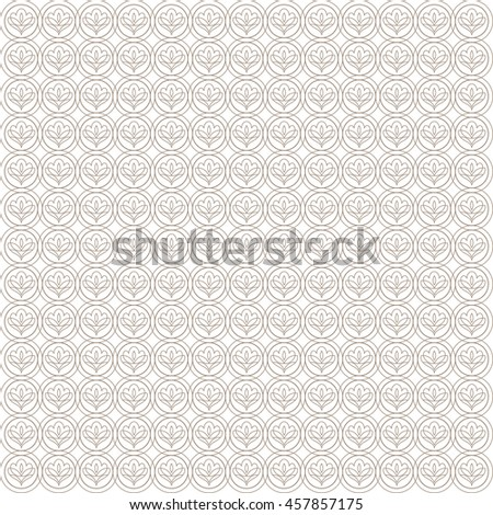Vector pattern with art ornament. Elements for design . Ornamental lace tracery backgroun.Beige white. - stock vector