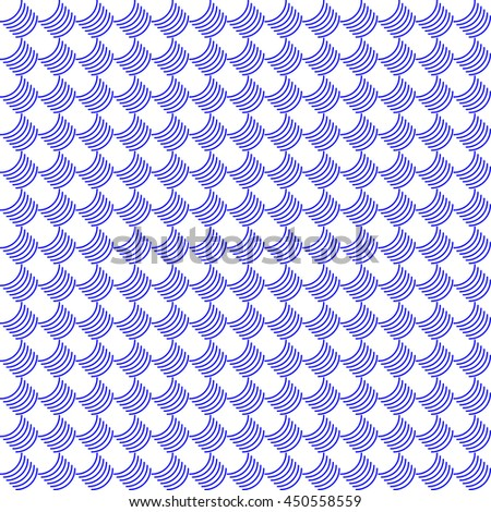 Vector pattern with art ornament. Elements for design . Ornamental lace tracery background.Blue white.  - stock vector