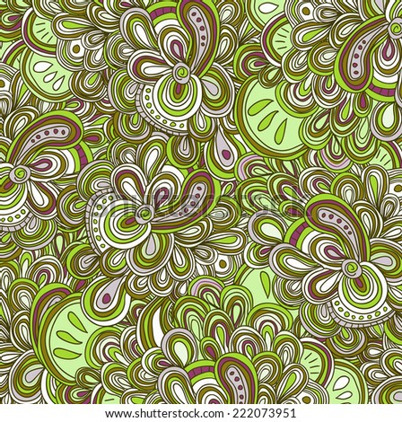 vector pattern with many lines and details. Ethnic pattern.