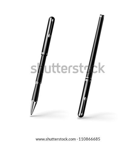 Vector pen. - stock vector