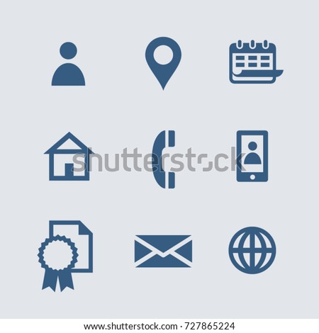 information personal icons curriculum icon vitae vector shutterstock address cv icone preview royalty contact