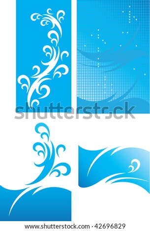 Vector picture. A background - stock vector