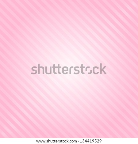 Vector pink background with stripes - stock vector