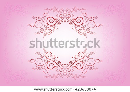 Vector pink invitation card layout design stock vector royalty free vector pink invitation card layout design template stopboris Images
