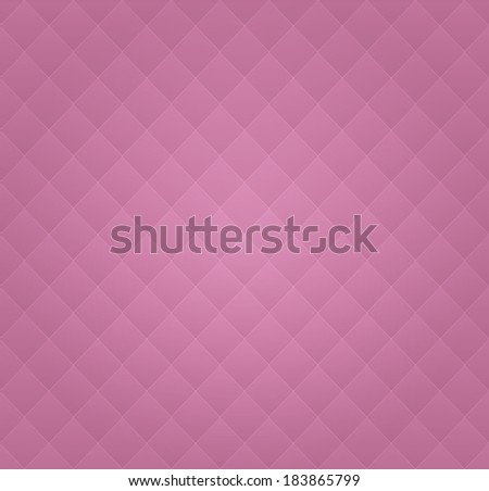 Vector Pink Leather Vintage Seamless Background Pattern - stock vector