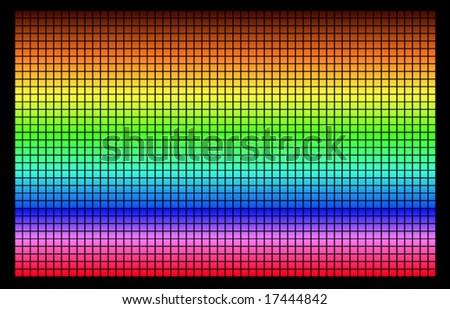 vector pixel background - stock vector