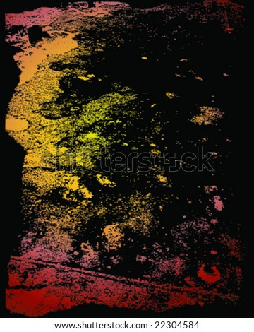 VECTOR Pure grunge texture background. - stock vector