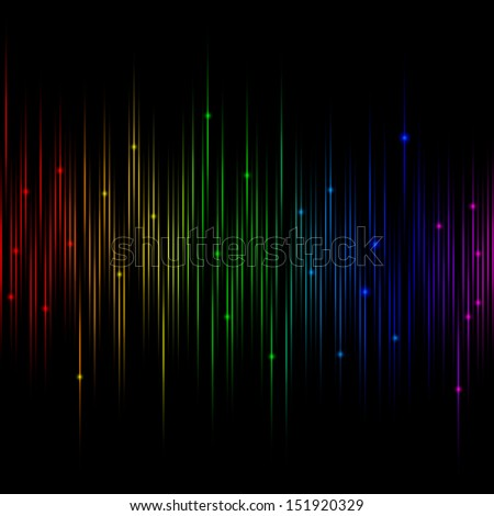 vector rainbow equalizer