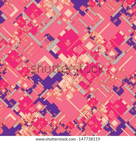 vector random rectangle block pattern wallpaper - stock vector