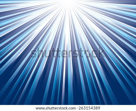 Vector Rays. Abstract Modern Background. - stock vector