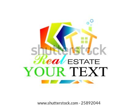 VECTOR Real Estate Design - stock vector