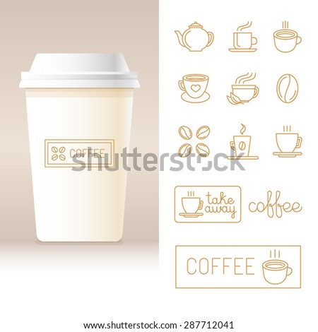 Cup Template | Cup Template Stock Images Royalty Free Images Vectors