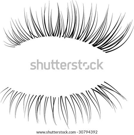 black eyelashes stock images, royalty-free images & vectors