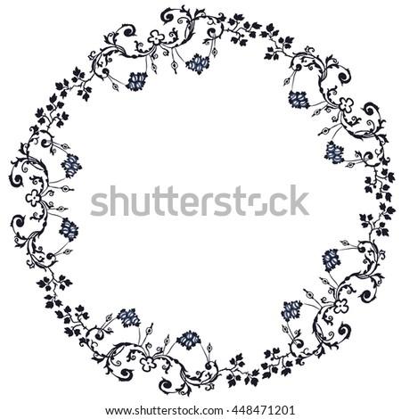 Vector Retro Circular Background - stock vector