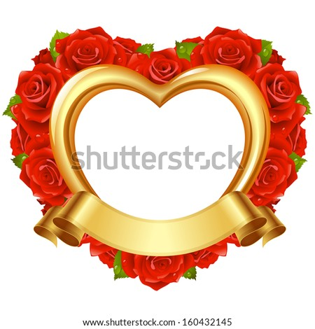 Vector ribbon in the shape of 2014 and holly ball. Christmas and New Year greeting card - stock vector