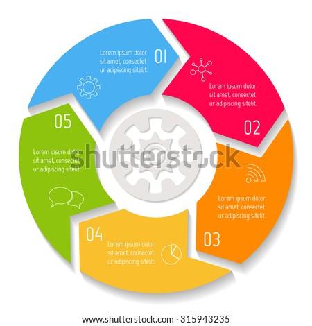 Circular Diagram Banco de imágenes. Fotos y vectores libres de ...