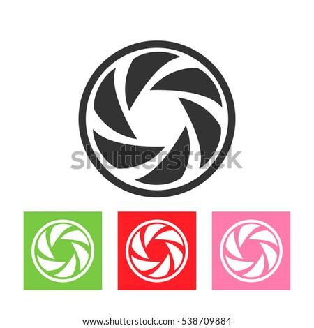 vector round logo template set circle stock vector royalty free rh shutterstock com