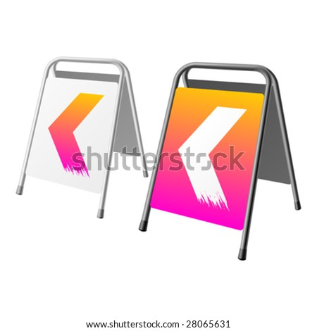 Sandwich Board Advertising Stock Images, Royalty-Free ...