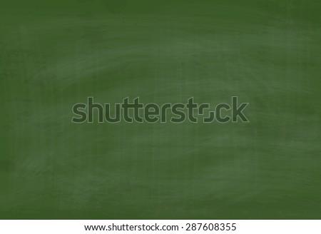 Vector School Green Chalkboard Textured Background - stock vector