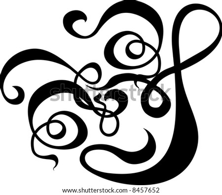 vector scroll pattern painting backgrounds