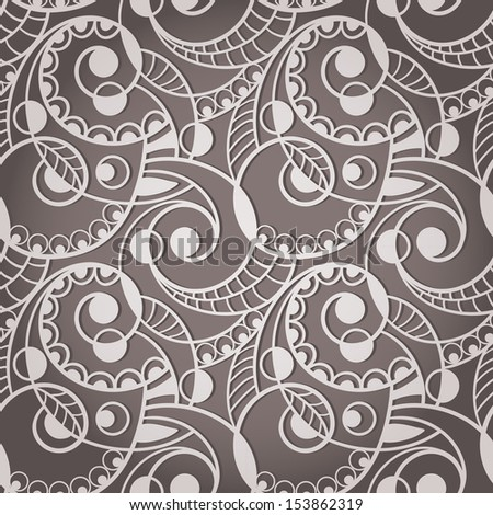 Vector Seamless Abstract  Pattern - stock vector