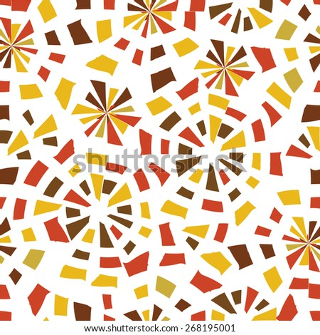vector seamless abstract pattern background - stock vector