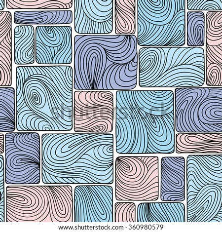 Vector seamless abstract pattern, waves. Can be used for desktop wallpaper or frame for a wall hanging or poster,for pattern fills, surface textures, web page backgrounds, textile and more.