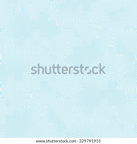 Vector seamless background. Modern texture in pastel colors. Abstract blue and white pattern eps8 - stock vector