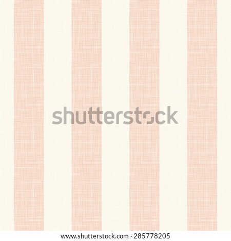 Vector seamless background with stripes pattern in vintage style. Imitation canvas texture. - stock vector