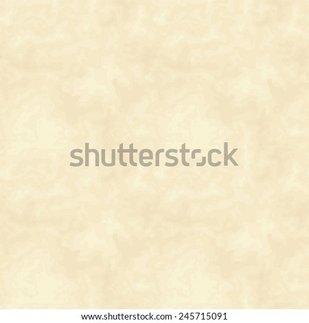 Vector seamless beige parchment texture. - stock vector