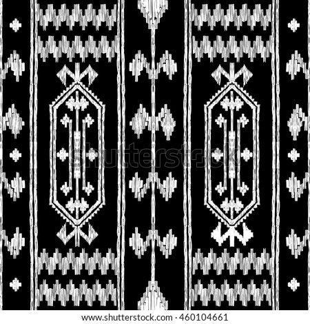 Super Vector Seamless Decorative Ethnic Pattern Oriental Stock Vector HD  ZL93