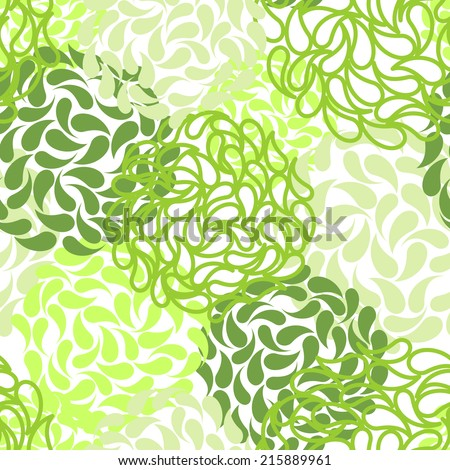 Vector seamless floral background. color abstract wallpaper - stock vector