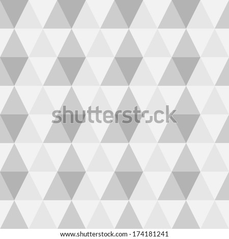 Vector seamless geometric pattern.Texture with triangles, rhombus.Mosaic. - stock vector