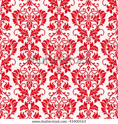 Vector Seamless Holiday Pattern